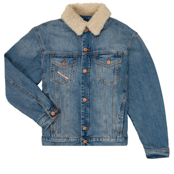 Clothing Boy Denim jackets Diesel JRESKY Blue