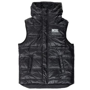Clothing Boy Duffel coats Diesel JSUNNY Black