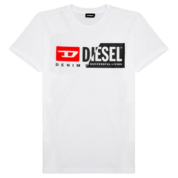 Clothing Children Short-sleeved t-shirts Diesel TDIEGOCUTY White