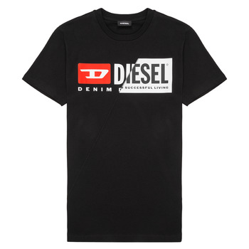 Clothing Children short-sleeved t-shirts Diesel TDIEGOCUTY Black