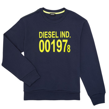 Clothing Children sweaters Diesel SGIRKJ3 Blue