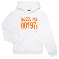 Clothing Children Sweaters Diesel SGIRKHOOD White