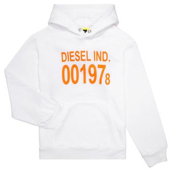 Clothing Children Sweaters Diesel SGIRKHOOD White