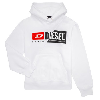 Clothing Children Sweaters Diesel SGIRKHOODCUTY White
