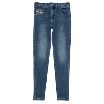 Clothing Girl Slim jeans Diesel D-SLANDY HIGH Blue