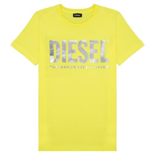 Clothing Girl Short-sleeved t-shirts Diesel TSILYWX Yellow