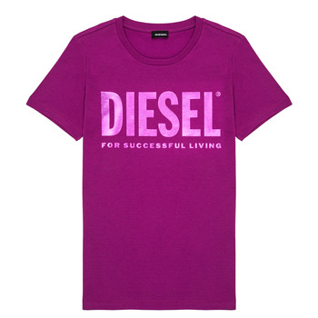 Clothing Girl Short-sleeved t-shirts Diesel TSILYWX Pink