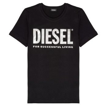 Clothing Girl Short-sleeved t-shirts Diesel TSILYWX Black