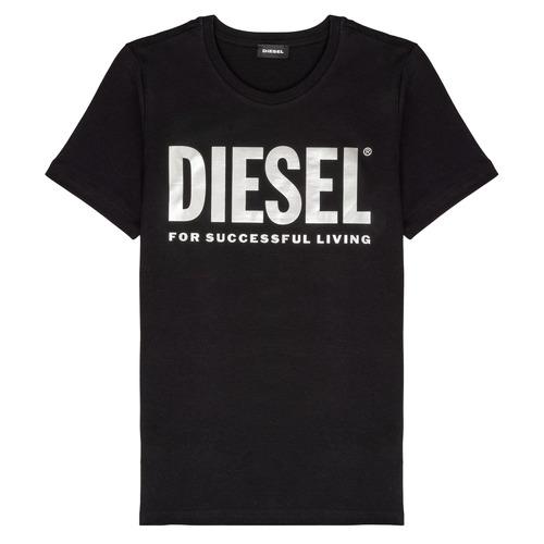 Clothing Girl Short-sleeved t-shirts Diesel TSILYWX Black
