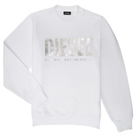 Clothing Girl Sweaters Diesel SANGWX White