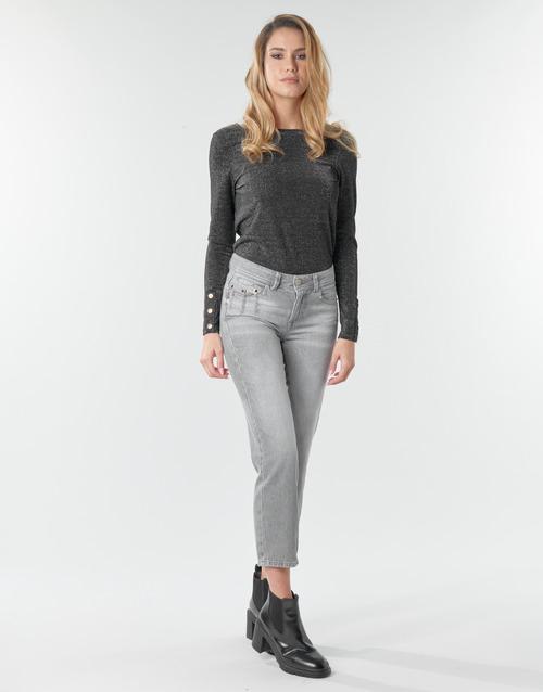 Clothing Women Straight jeans Freeman T.Porter LOREEN DENIM Grey