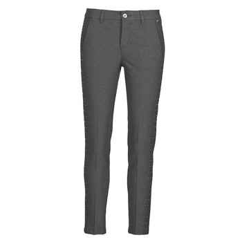 Clothing Women 5-pocket trousers Freeman T.Porter CLAUDIA POLYNEO Grey