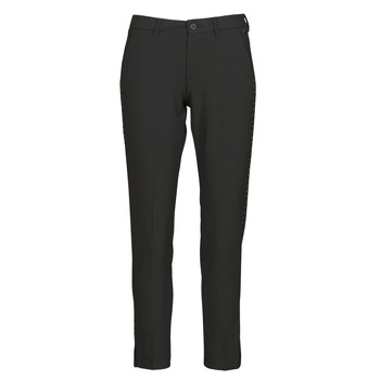 Clothing Women 5-pocket trousers Freeman T.Porter ADELIE POLYNEP Black