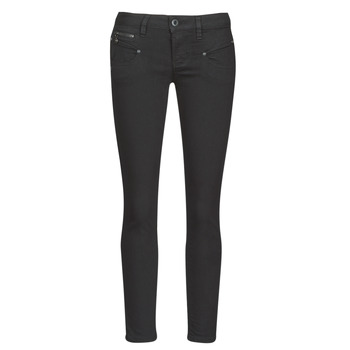 Clothing Women Slim jeans Freeman T.Porter ALEXA CROPPED S-SDM Black