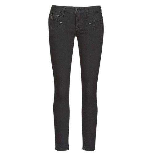 Clothing Women Slim jeans Freeman T.Porter ALEXA CROPPED S-SDM Black