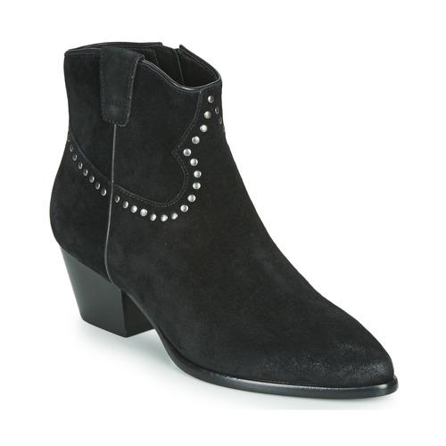 Shoes Women Ankle boots Ash HOUSTON BIS  black