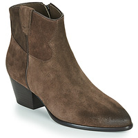 Shoes Women Ankle boots Ash HOUSTON Brown
