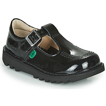 Shoes Girl Flat shoes Kickers KICK T  black