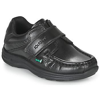 Shoes Boy Derby Shoes Kickers REASAN STRAP  black
