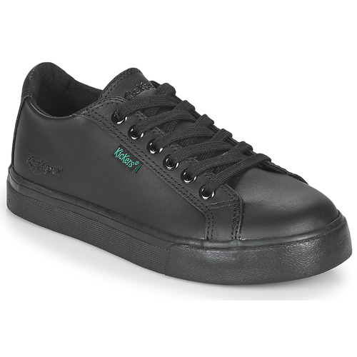 Shoes Boy Low top trainers Kickers TOVNI LACER  black