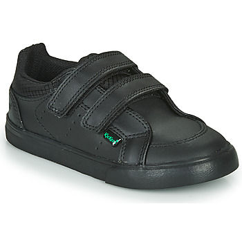 Shoes Boy Low top trainers Kickers TOVNI TWIN VEL  black