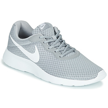 Shoes Men Low top trainers Nike TANJUN Grey / White