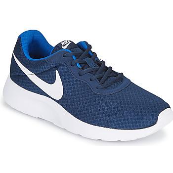 Shoes Men Low top trainers Nike TANJUN Blue / White