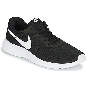 Shoes Women Low top trainers Nike TANJUN Black / White