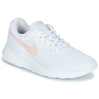 Shoes Women Low top trainers Nike TANJUN White / Pink
