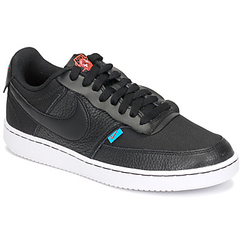 Shoes Women Low top trainers Nike COURT VISION LOW PREM Black