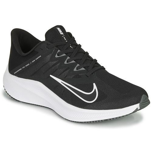 Shoes Men Running shoes Nike QUEST 3 Black / White