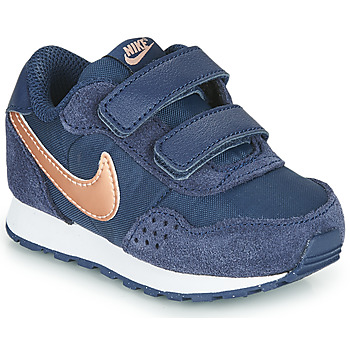 Shoes Children Low top trainers Nike MD VALIANT TD Blue / Coppery