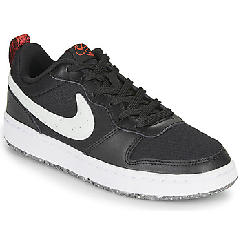 Shoes Children Low top trainers Nike COURT BOROUGH LOW 2 MTF GS Black / White
