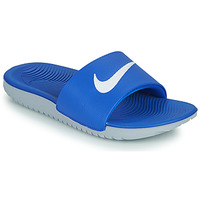 Shoes Children Sliders Nike KAWA GS Blue / White