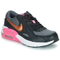 Shoes Men Low top trainers Nike AIR MAX EXCEE PS Black / Gold / Pink