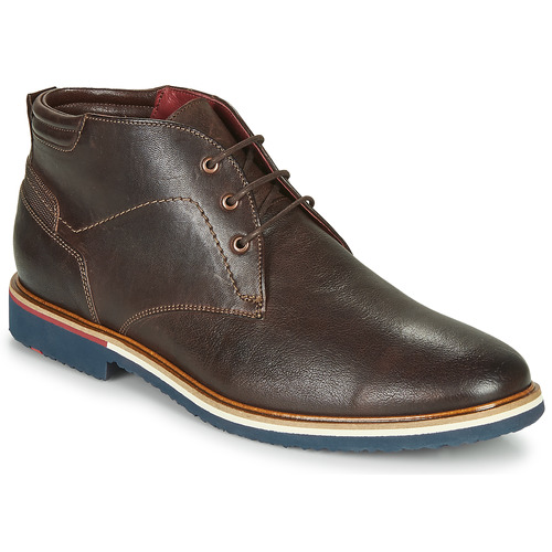 Shoes Men Mid boots Lloyd FABIO Brown