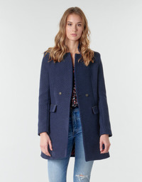Clothing Women Coats One Step FR44051 Marine