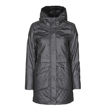 Clothing Women Parkas One Step FR42021 Grey