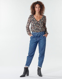 Clothing Women 5-pocket trousers One Step FR29091_46 Blue
