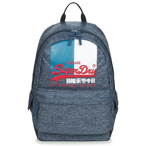 Bags Rucksacks Superdry VL MONTANA Blue