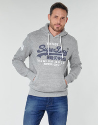 Clothing Men Sweaters Superdry VL NS HOOD Grey