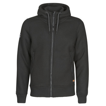 Clothing Men Jackets Superdry EXPEDITION ZIP THRU Black