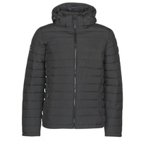 Clothing Men Duffel coats Superdry HOODED FUJI JACKET Black