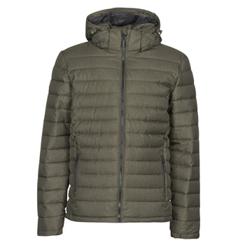 Clothing Men Duffel coats Superdry HOODED FUJI JACKET Kaki
