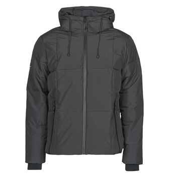 Clothing Men Duffel coats Superdry EVOLUTION PUFFER Black