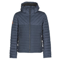 Clothing Men Duffel coats Superdry TWEED MIX FUJI Blue
