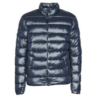 Clothing Men Duffel coats Superdry HIGH SHINE QUILTED PUFFER Blue
