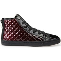 Shoes Women Hi top trainers Geox D Nclub A Black