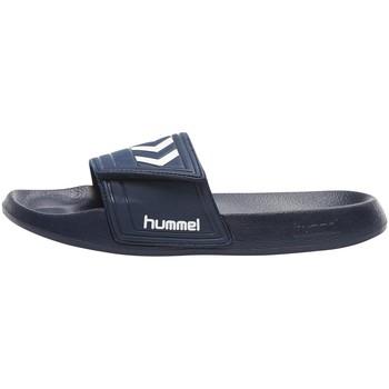Shoe accessories Sports accessories Hummel Claquettes  Larsen Slipper VC bleu/blanc