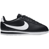 Shoes Women Low top trainers Nike Wmns Classic Cortez Leather Black